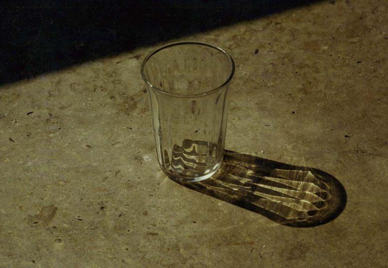 Glas - Schatten