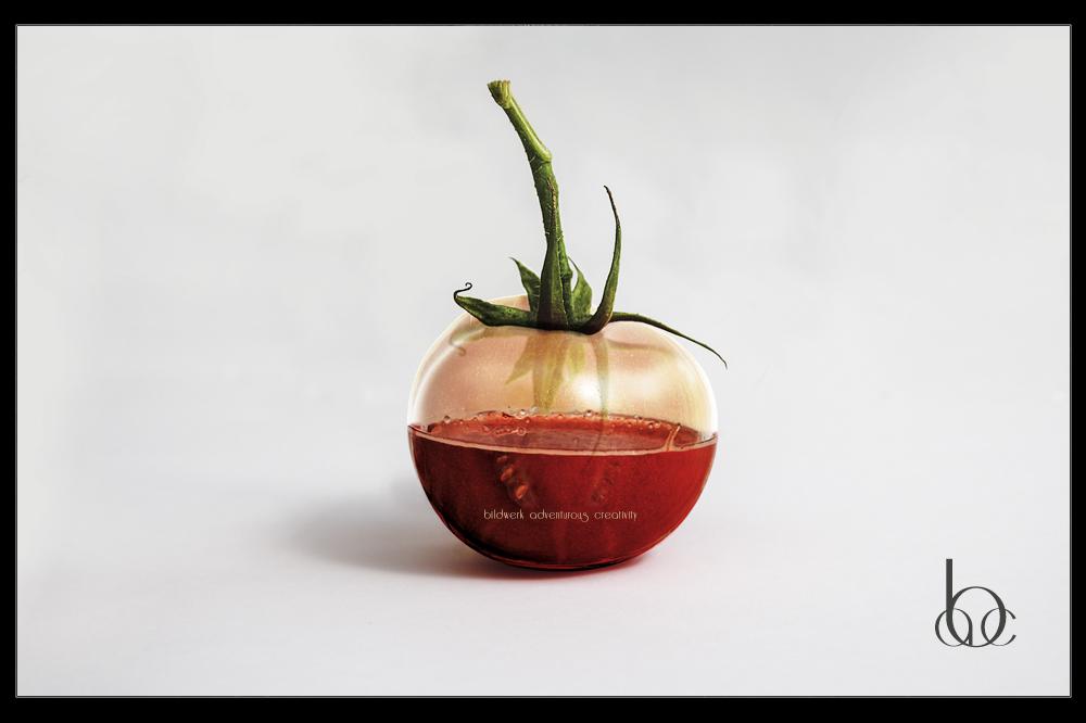 Glas Tomate