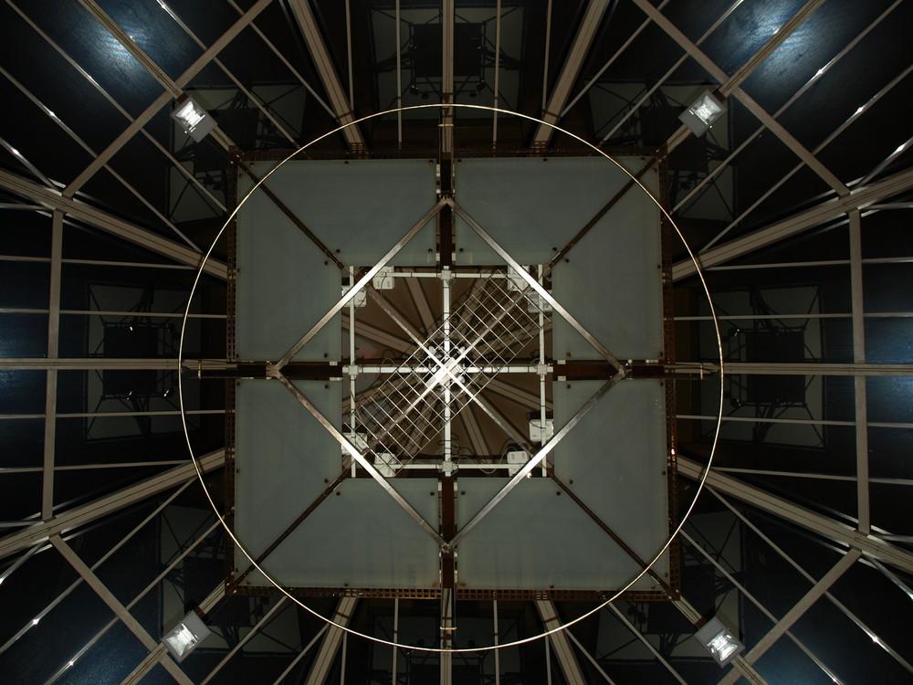 Glasdach im Atrium bamberg