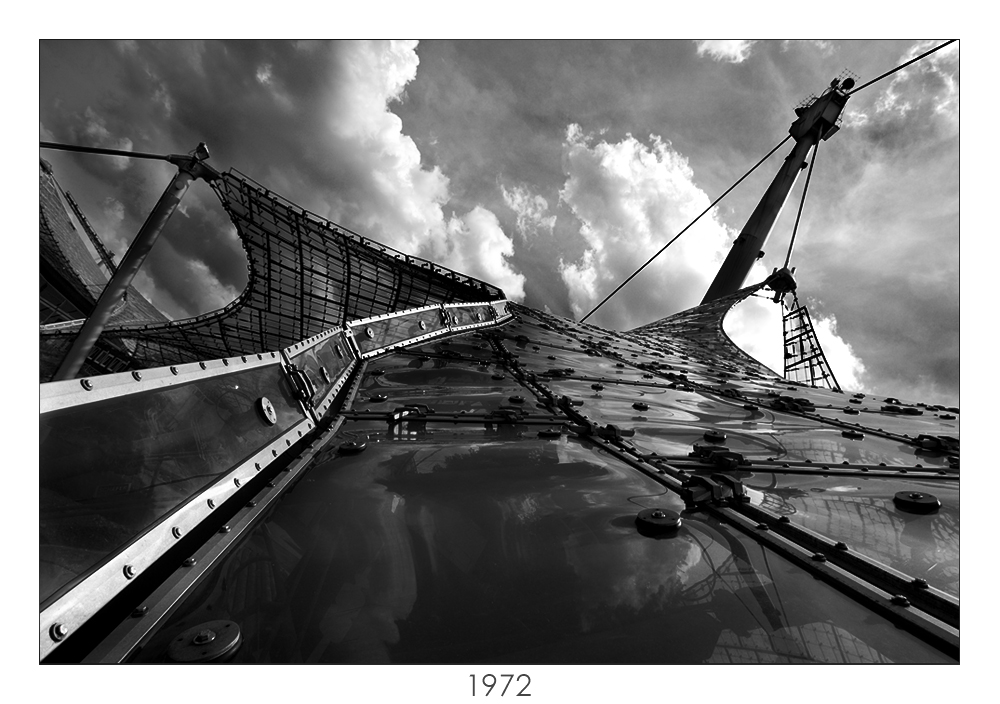 Glasdach Olympiapark