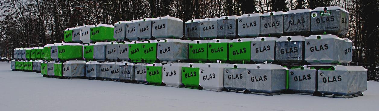 Glasentsorgung im grossen Stil