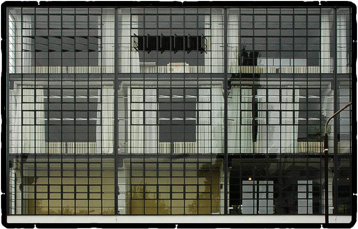 Glasfassade ....