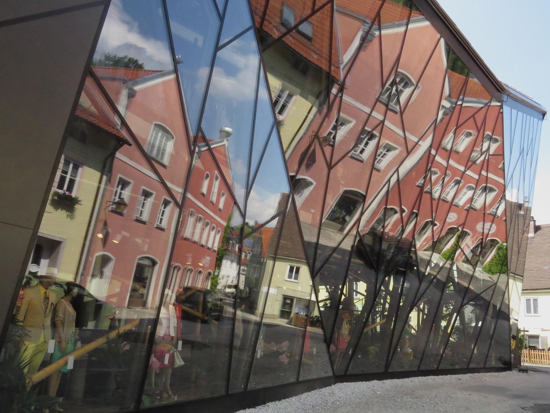 Glasfassade in Erding