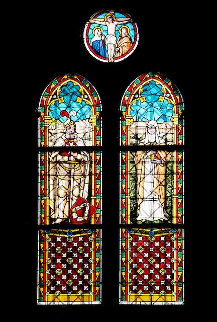 Glasfenster auf der Südseite