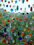 Glasfensterperlen