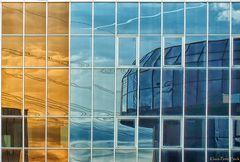 Glasfront Spiegelung