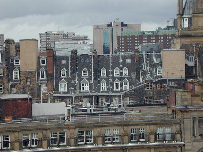 Glasgows Regenrohre