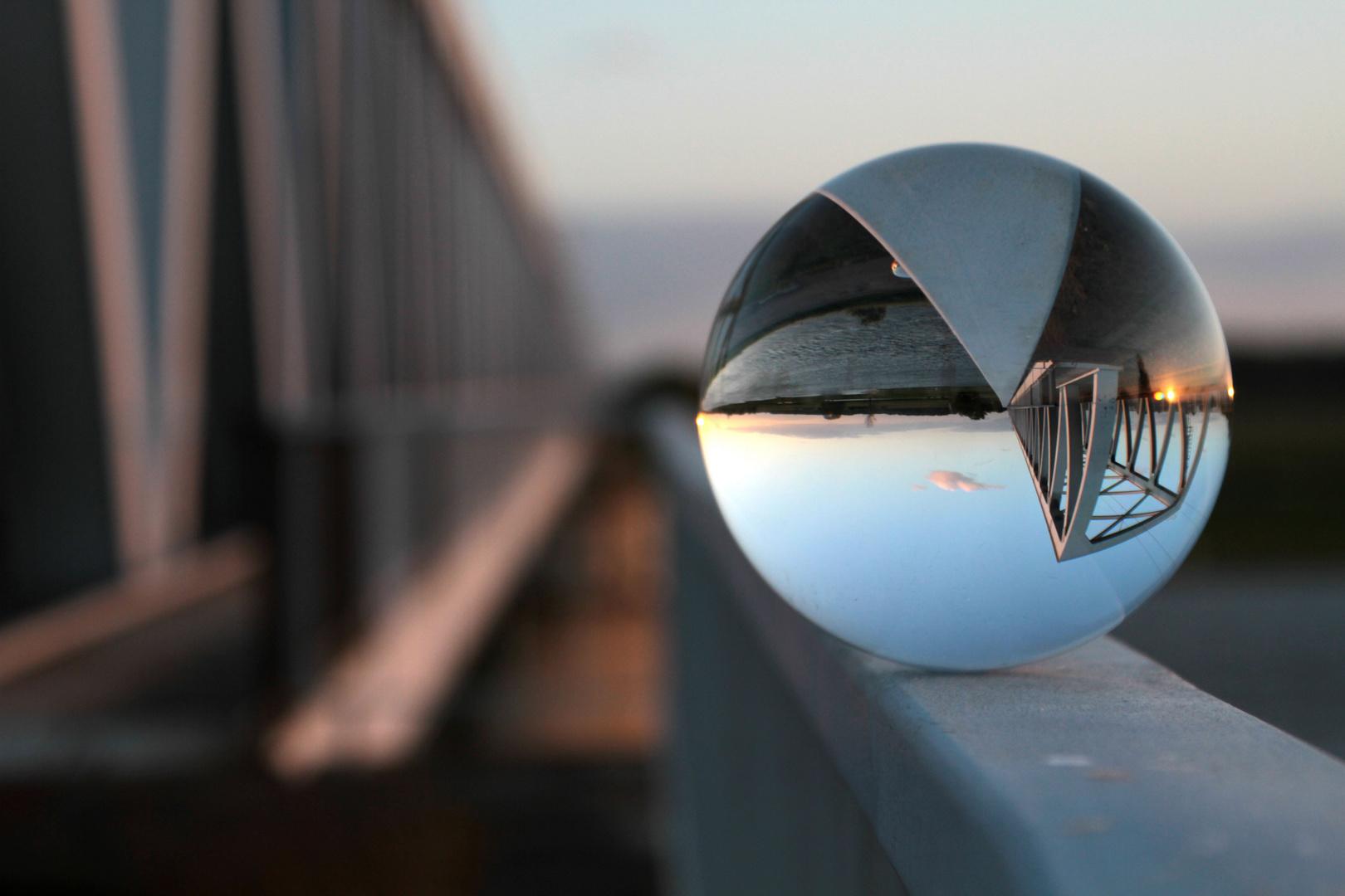 Glaskugel auf Reisen