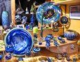 Glaskunst auf dem Weihnachtsmarkt von Günter Walther