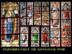 Glasmalerei im Kölner Dom