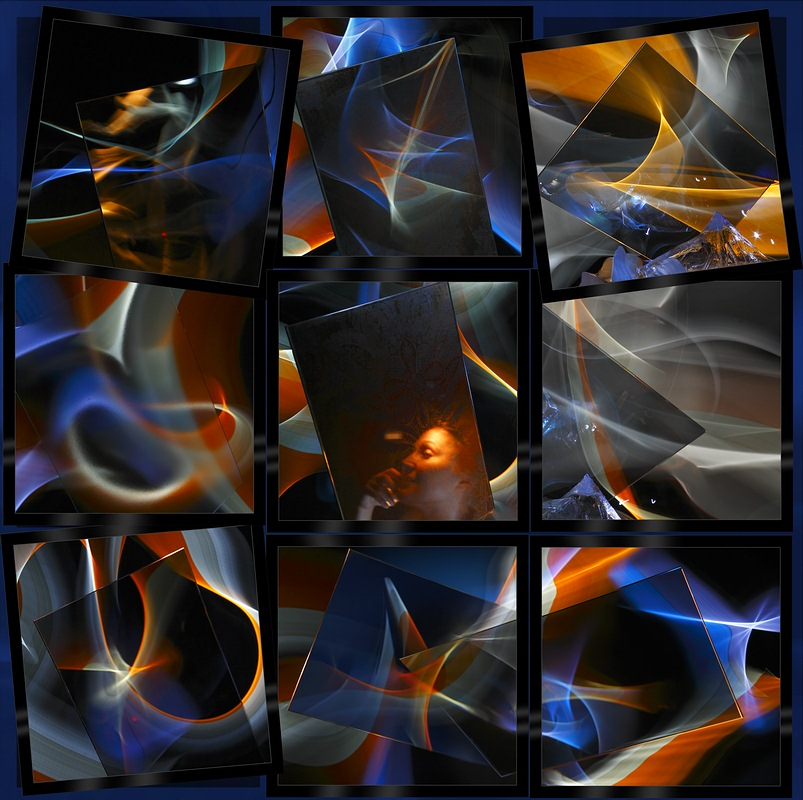 Glass and Light (LightGraphic - Reflexions. Distortions.)