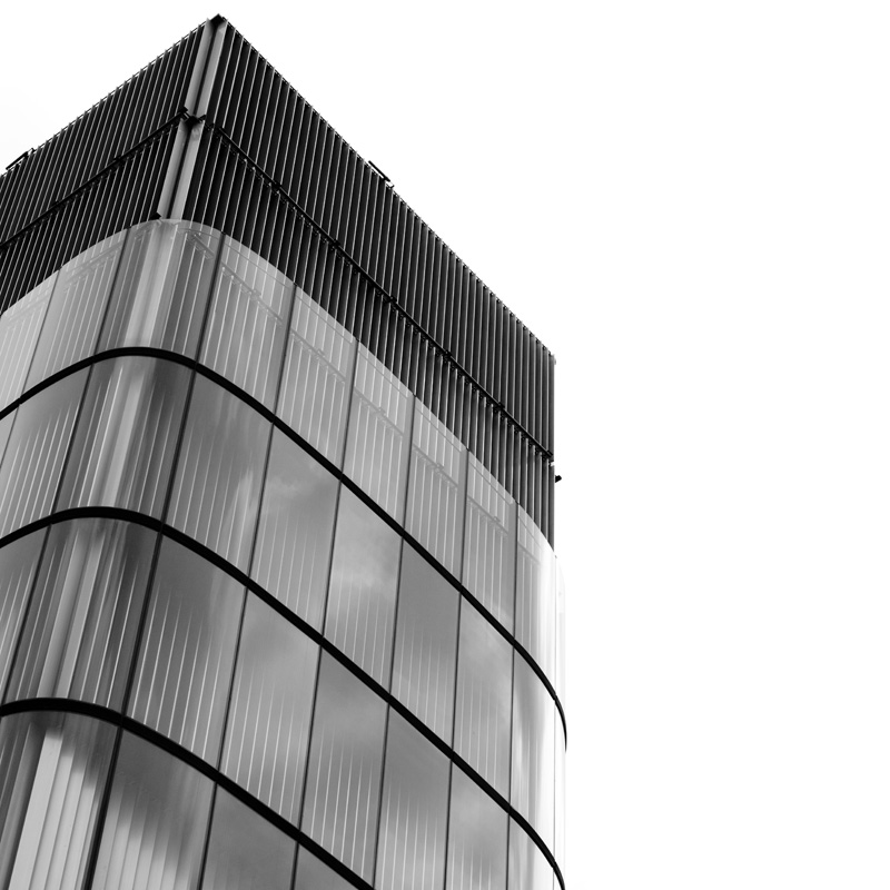 glass and lines...