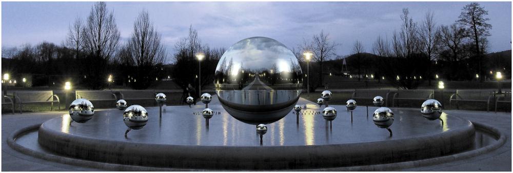 glass ball - panorama