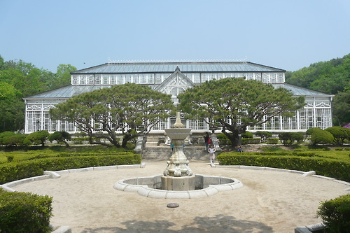 Glasshouse palace district, Seoul
