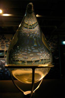(Glas)Wassertropfen