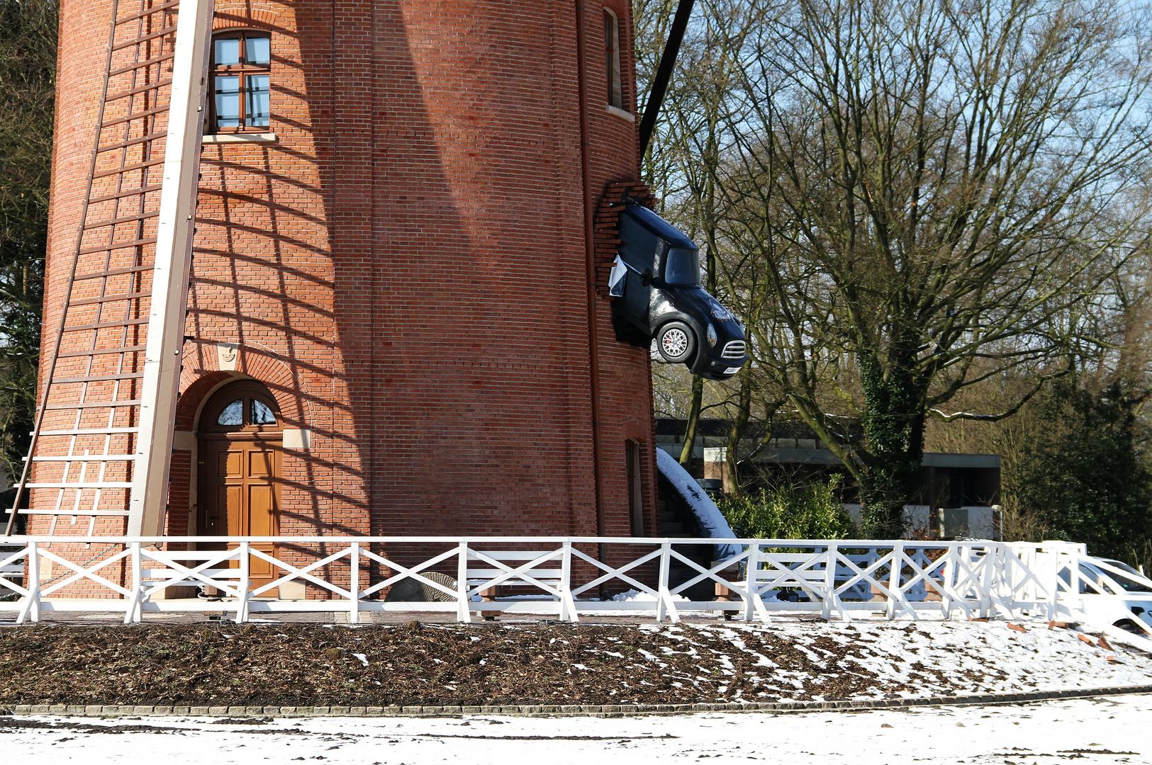 Glatteis ... Rügenwalder Mühle