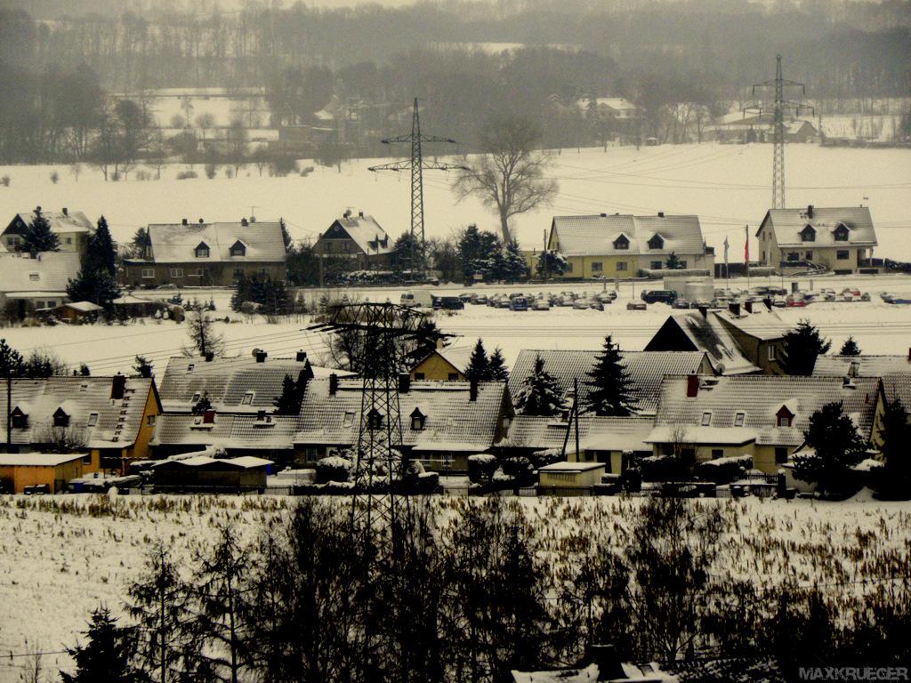 Glauchau im Winter