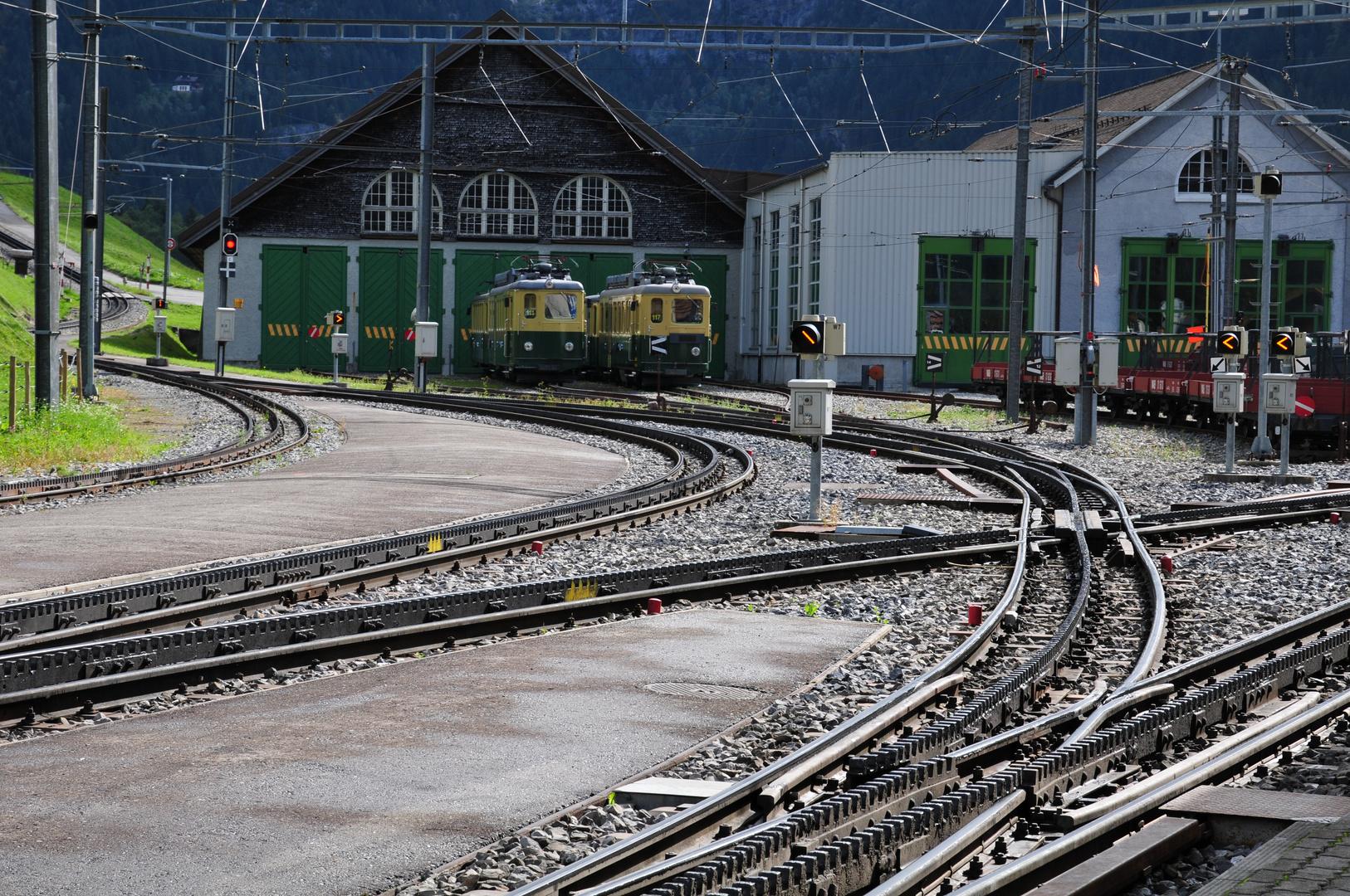 Gleisanlagen Grindelwald Grund