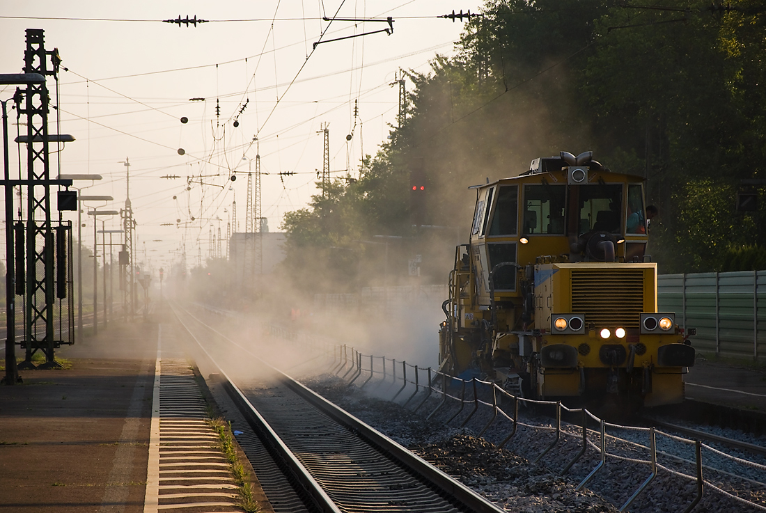 Gleisbauarbeiten XV