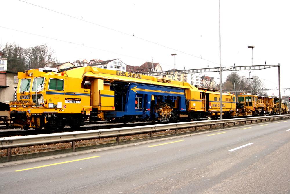 Gleisbauzug