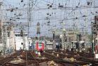 Gleise am HBF Köln