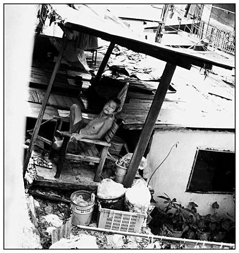 Gleisleben in Bangkoks Slums