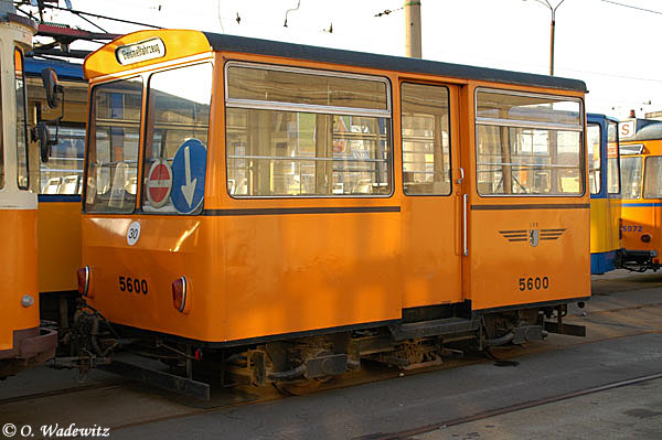 Gleismesswagen aus Leipzig