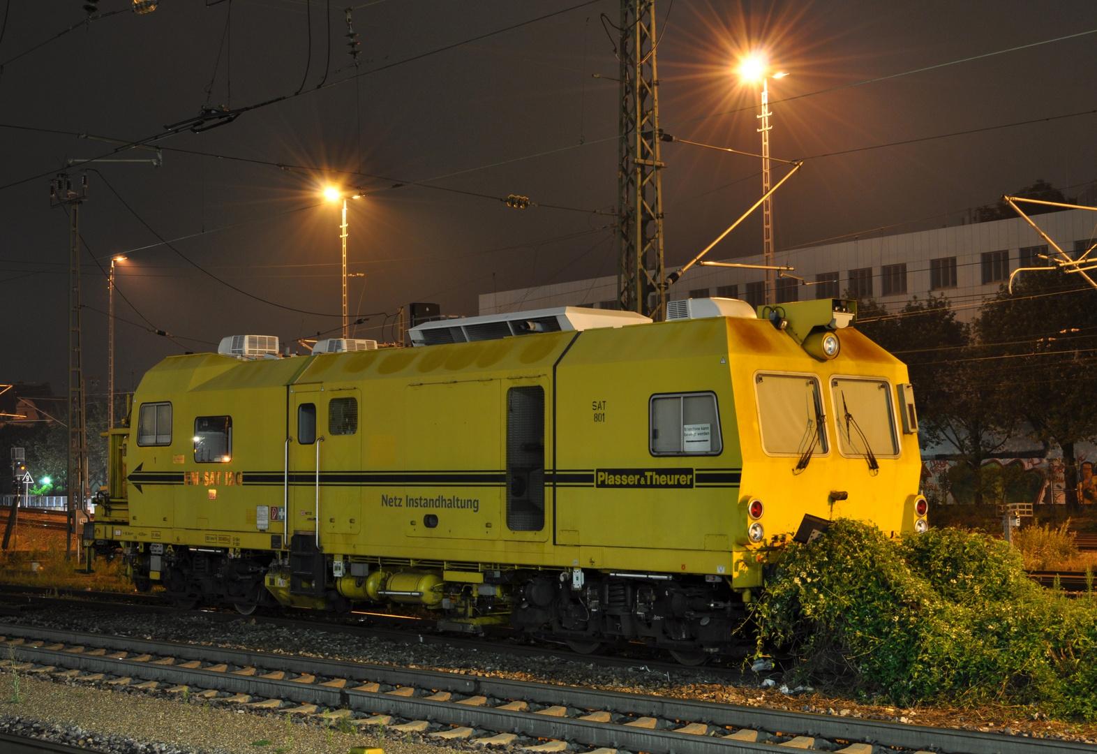 Gleisvormesstriebwagen EM-SAT 120