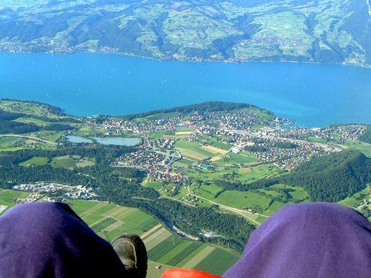 Gleitschirmfliegen in der Schweiz