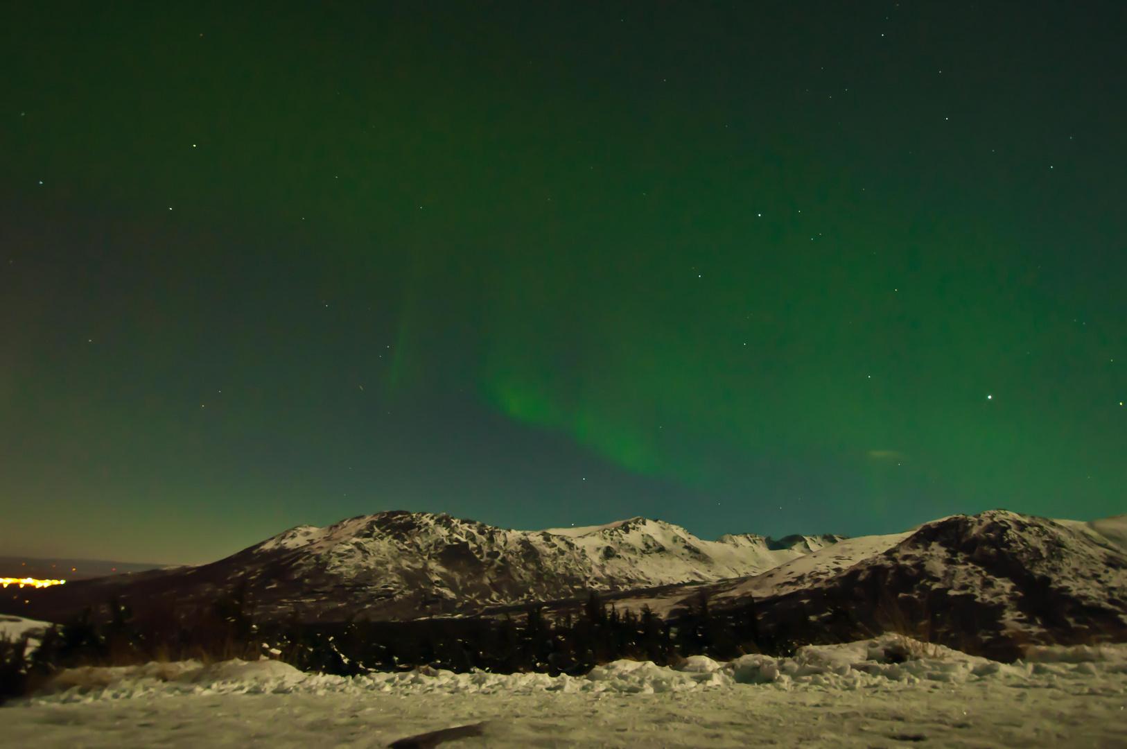 Glen Alps in Night