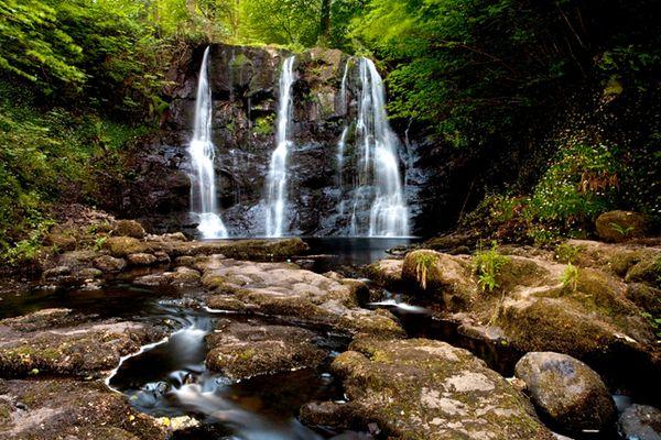 Glenariff Waterfalls, Irland