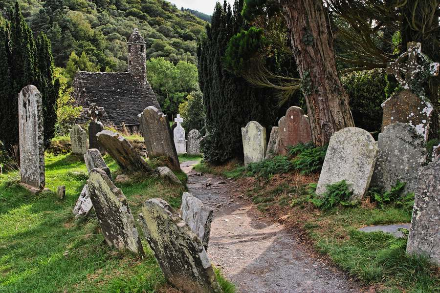 Glendalough in Irland