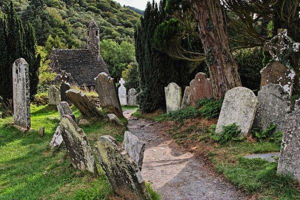 Glendalough in Irland