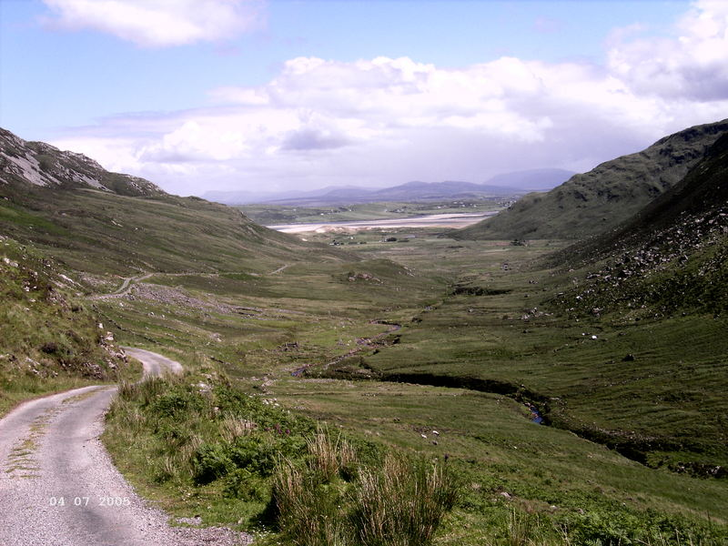 Glengesh Pass Co. Donegal