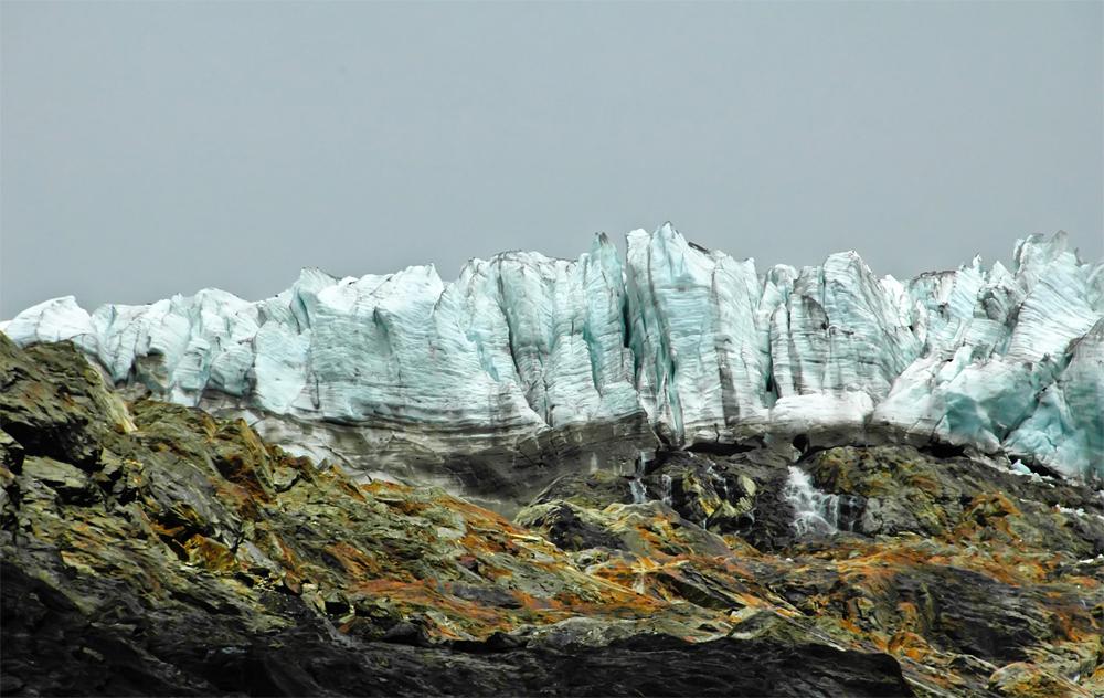 Gletscher Abbruch