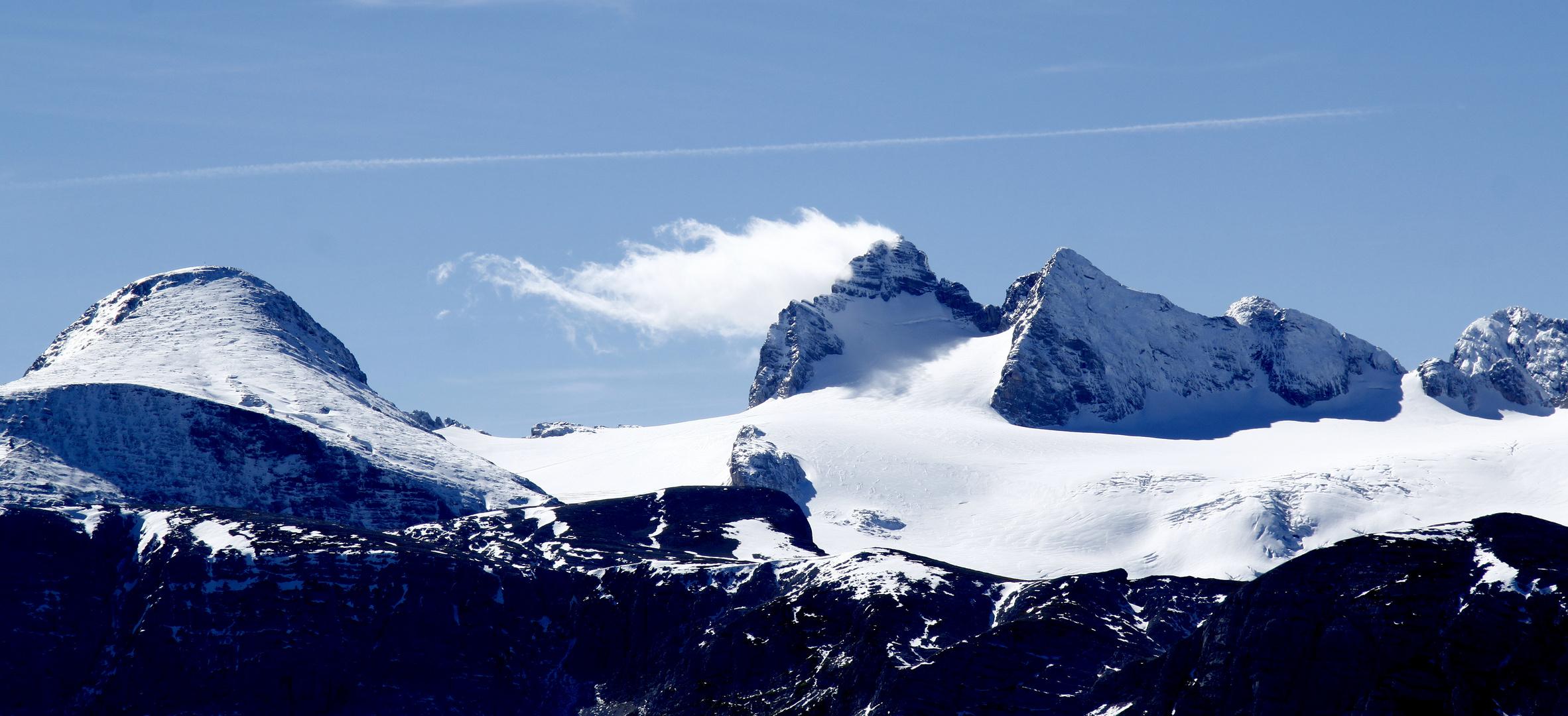 Gletscher am Dachstein