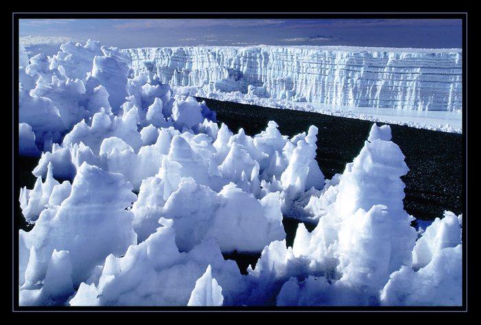 Gletscher am Kibo