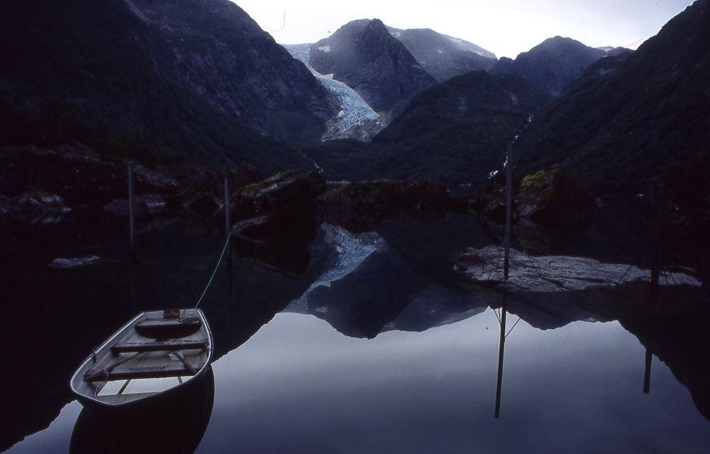 Gletscher am Königspfad