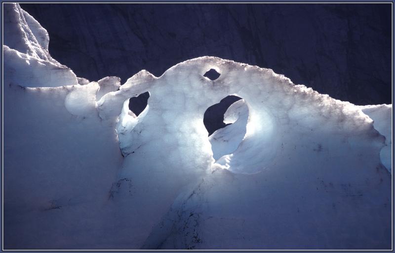 Gletscher am Nigardsbreen im Norwegen