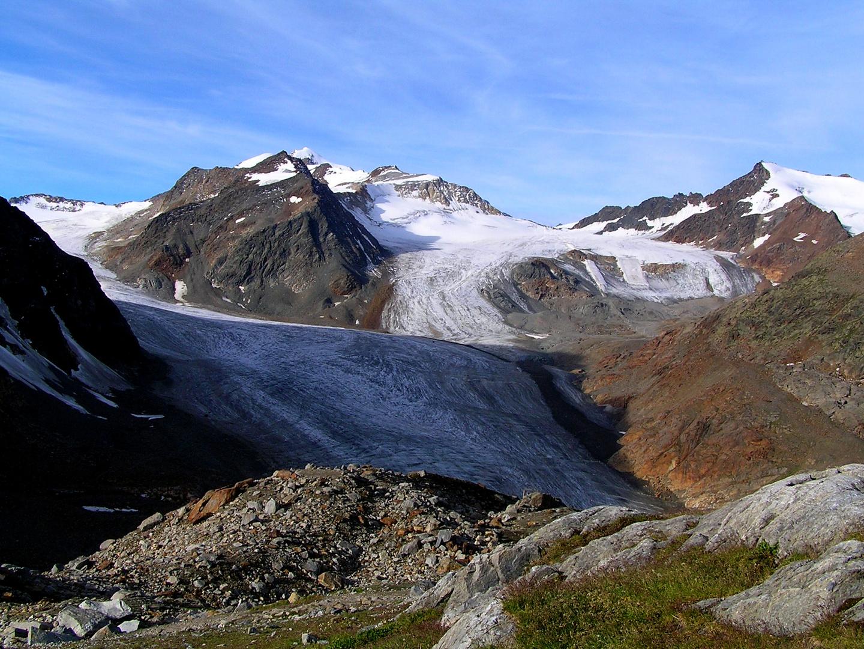 Gletscher an der Braunschweiger Hütte