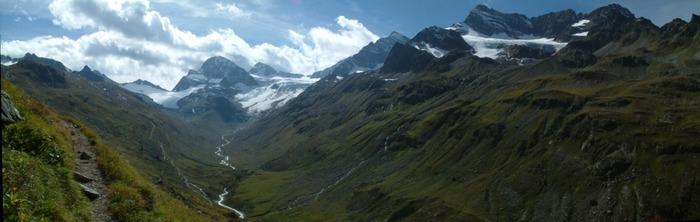 Gletscher bei der Wiesbadener Hütte - Galtuer