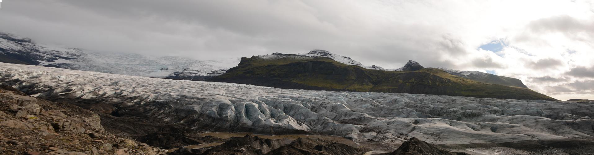 Gletscher bei Skaftafell