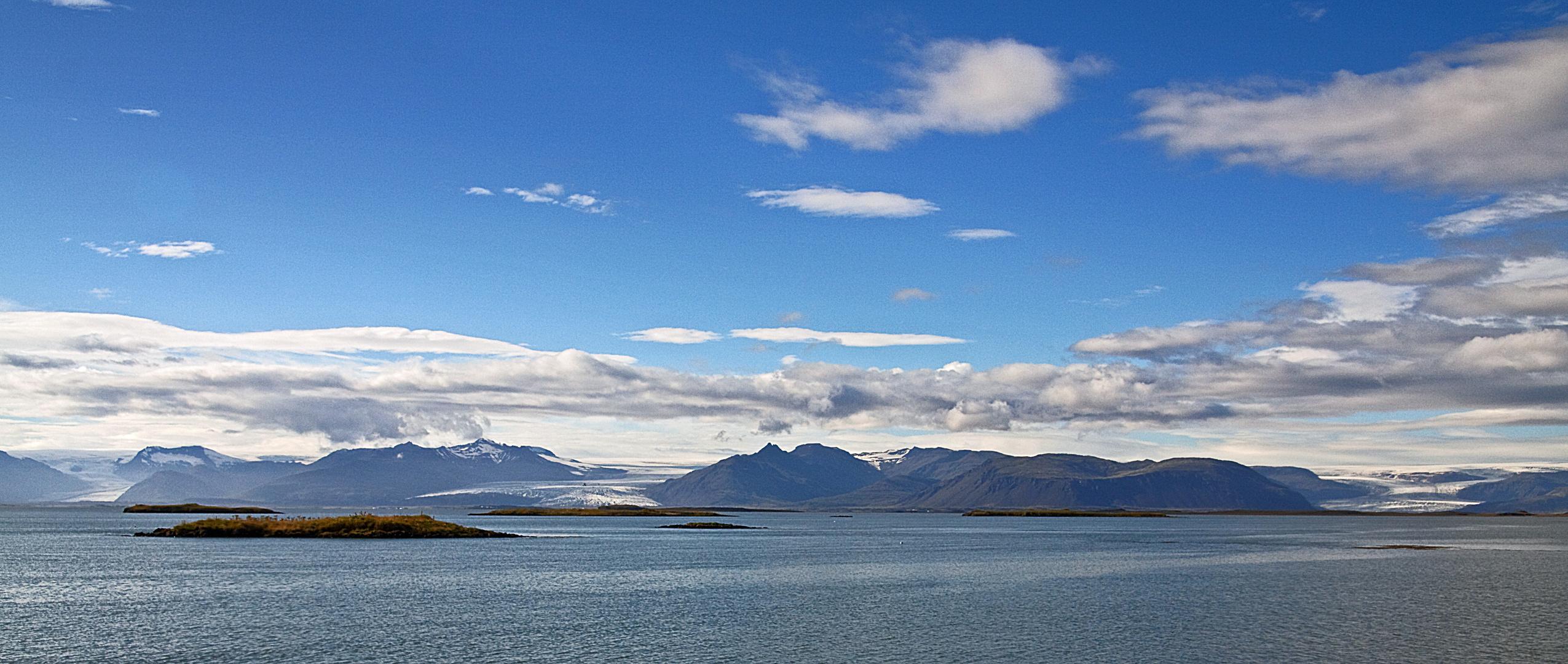 [ … Gletscher des Vatnajökull ]
