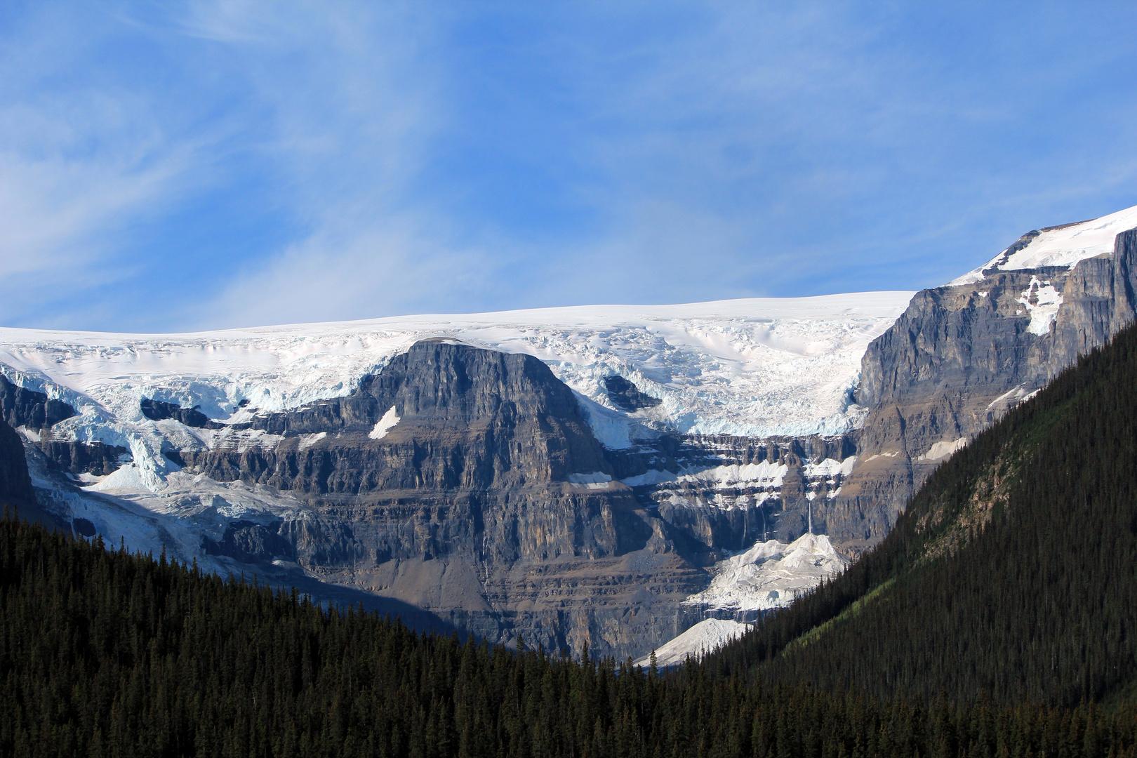 Gletscher im Columbia Icefield