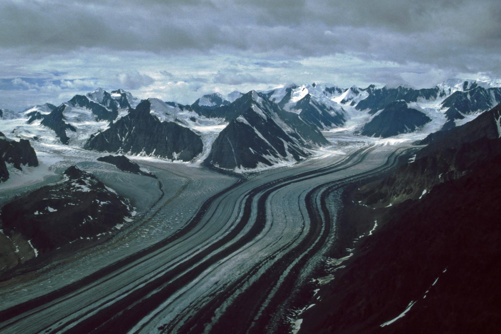 Gletscher im Denali-Nationalpark (Alaska)