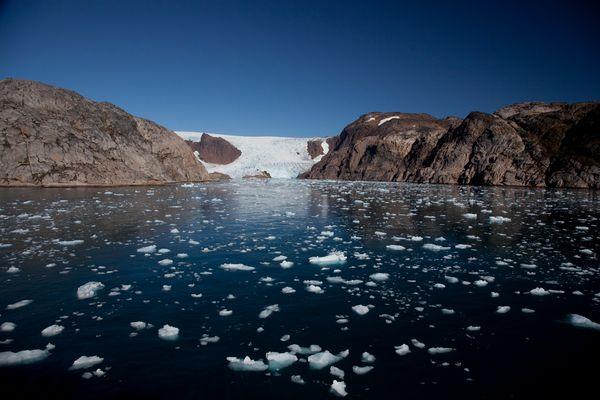 Gletscher im Prins Christian Sund