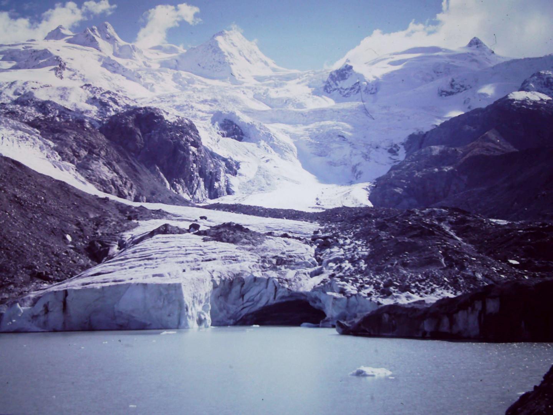 Gletscher im Rossegggrund