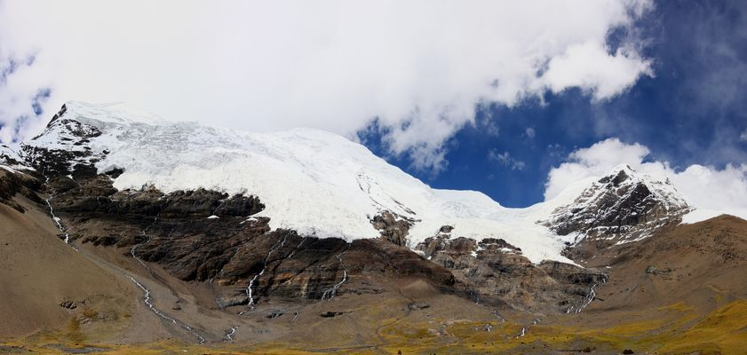 Gletscher in Tibet