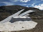 Gletscher Schutzplanen 1