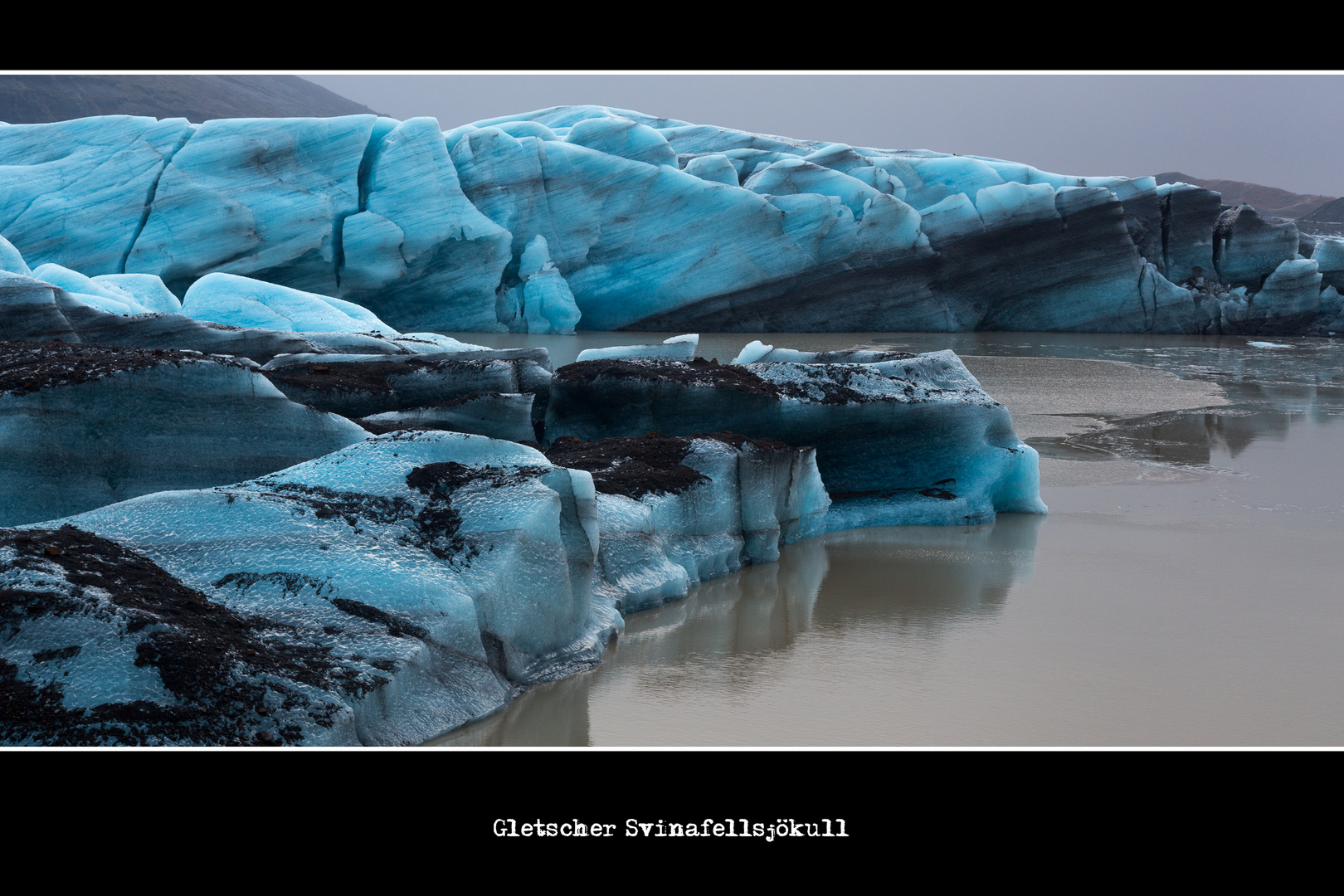 Gletscher Svinafellsjökull